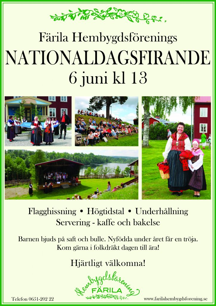 Nationaldagsfirande 2017, affisch